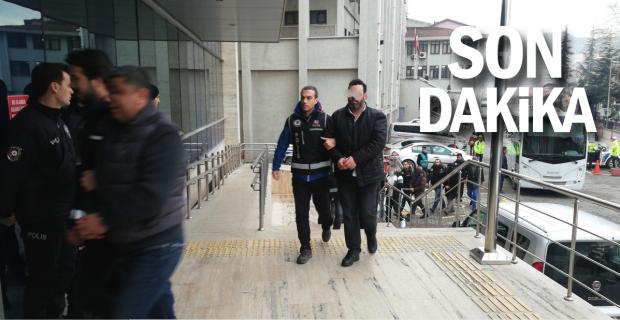 7 kişi tutuklandı, 4 kişi serbest kaldı...