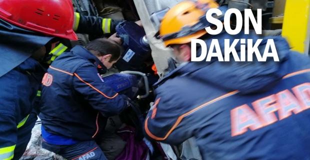 AFAD ekipleri böyle kurtardı...