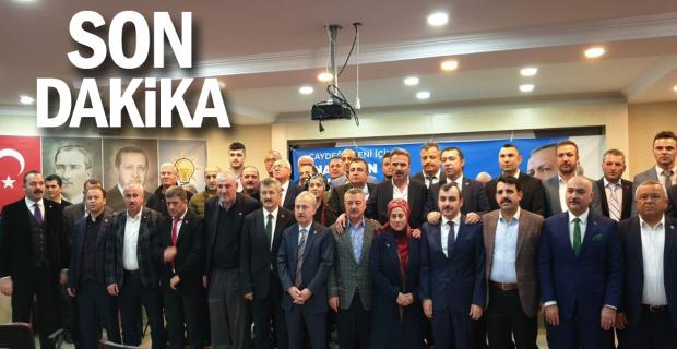AK Parti Çaydeğirmeninde kongresini gerçekleştirdi…