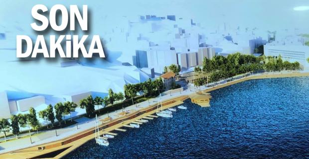 Başkan Alan müjdeyi verdi. Sahil Liman Projesinin tarihi belli oldu!...