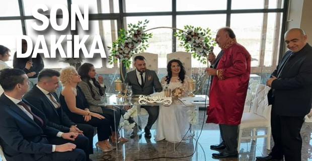 Başkan oğlunun nikahını kıydı...