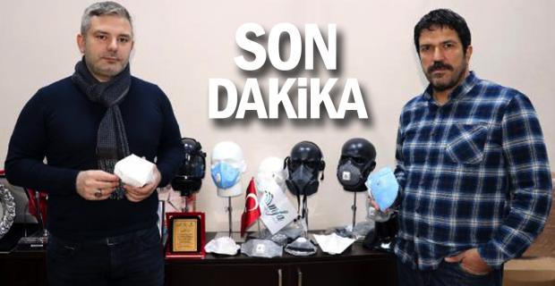 Çin'in maske talebini karşılamak için gece- gündüz çalışıyorlar