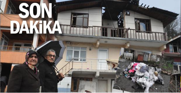Evleri yanan Damar ailesi yardım eli bekliyor