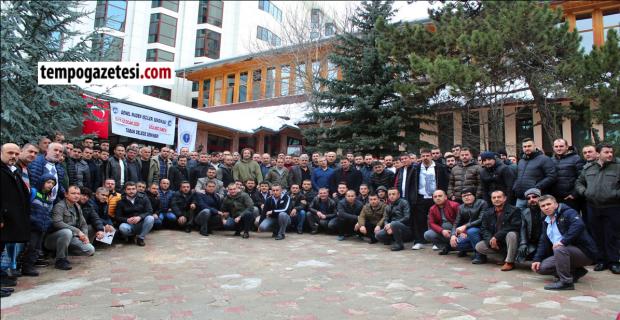 GMİS Üzülmez şube taban eğitim semineri yapıldı