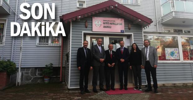 İl Milli Eğitim Müdür Vekili Akgül, Çaycuma'ya ziyarette bulundu