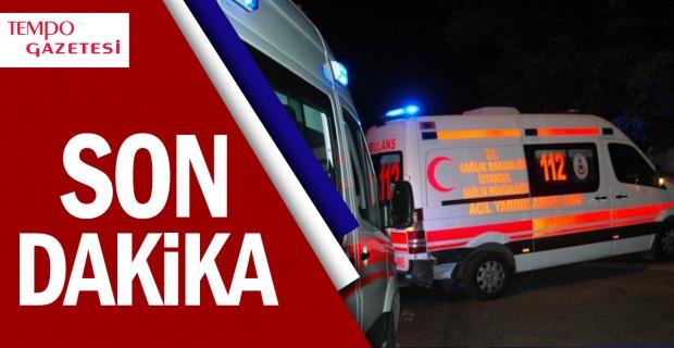 Işıklarda duramayan kamyonet 2 araca çarptı: 3 yaralı