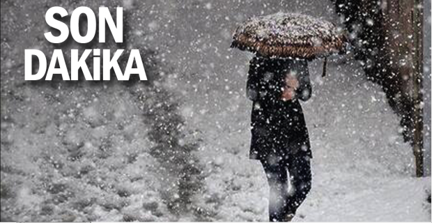 Merkezde beklenen kar yağışı başladı…