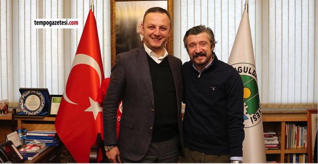 Tümer Metin Zonguldak'ı almaya geldi!..