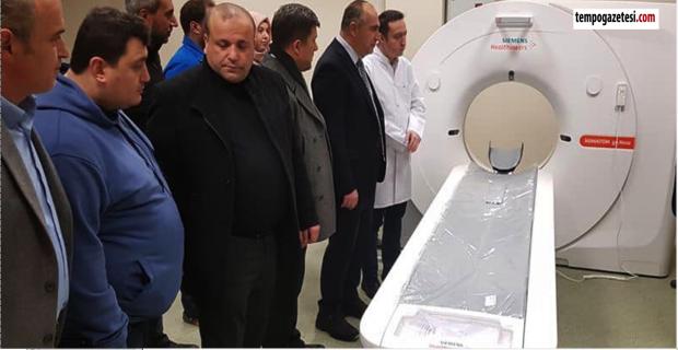 Tomografi cihazı var, doktoru yok!...