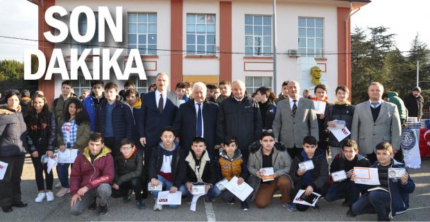 TSO protokol okulu öğrencilerini ödüllendirdi