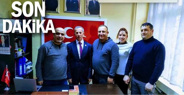 Zonguldak Ersag liderleri Kıransoy'u ziyaret etti...