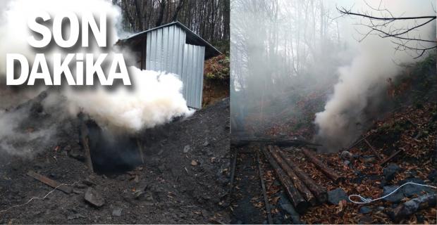 Zonguldak'ta 51 kaçak kömür ocağı dinamitle patlatıldı
