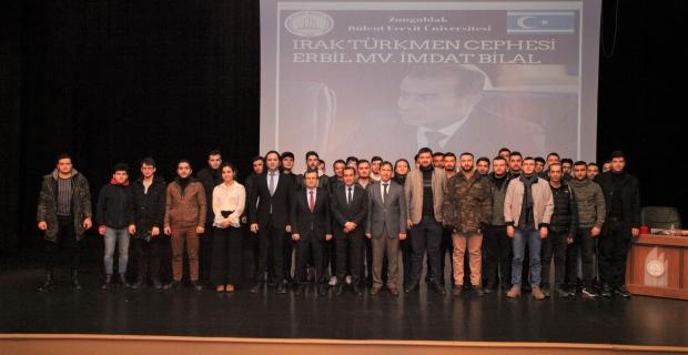 Irak'taki Türkmenlerin son durumu BEÜ'de konuşuldu