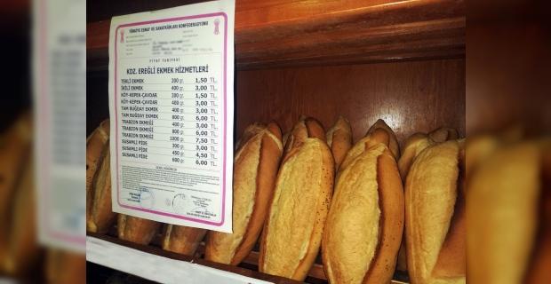 Kdz. Ereğli'de ekmek fiyatları yüzde 20 zamlandı