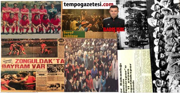 Yıl 1974…  3 Kupalı Şampiyon Zonguldakspor