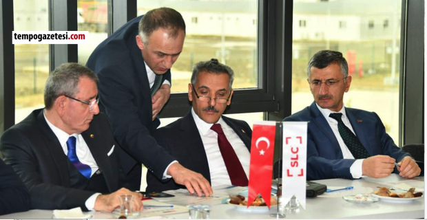 Zonguldak heyeti Samsun'da