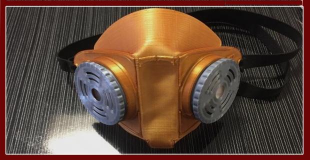 Bilim merkezinde 3D yazıcılarla maske üretildi
