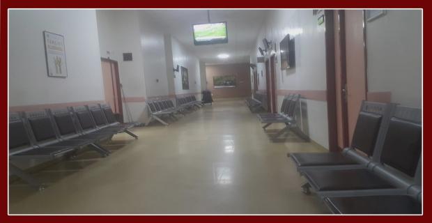 Burası Bülent Ecevit Araştırma Hastanesi…