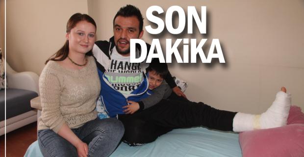 Devrek Kaymakam Vekili Altay, yaralı askeri evinde ziyaret etti
