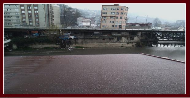 Zonguldak'a dolu yağıyor!...