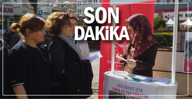 """Zonguldak'ta """"Tuza Dikkat Haftası"""" bilgilendirme standı"""
