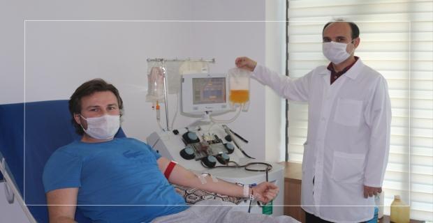 BEÜ'de dördüncü plazma bağışı gerçekleşti