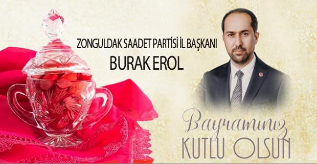 Burak Erol, Ramazan Bayramını kutladı…
