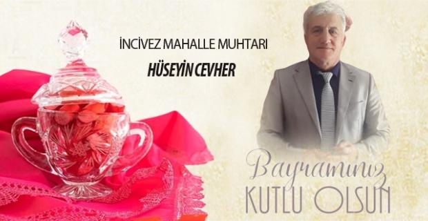 Hüseyin Cevher, Ramazan Bayramını kutladı…