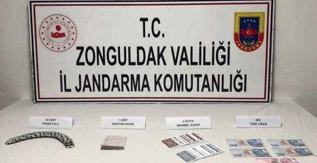 Kumar oynayan 6 şüpheliye 18 bin 900 lira ceza