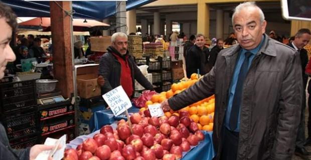 Meyve Sebze fiyatlarını açıkladı...