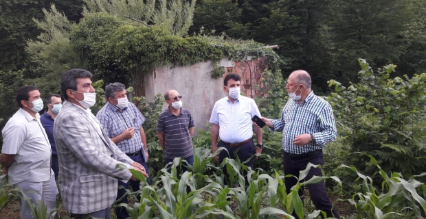 A.Sofular Köyü'nün su ve yol problemi çözülüyor