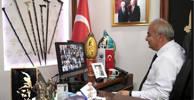 Başkan Çetin Bozkurt , Kılıçdaroğlu ile görüştü