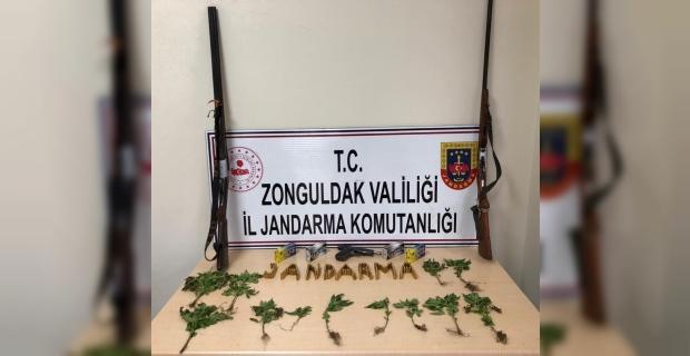 Ereğli'de jandarmadan uyuşturucu operasyonu