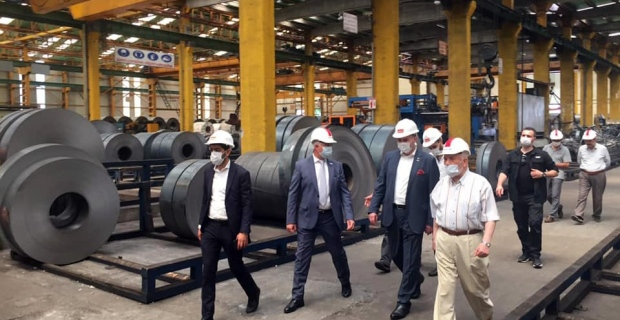 MÜSİAD Genel Başkanı Kaan fabrikalarda inceleme yaptı