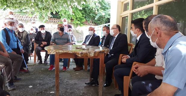 Vali Mustafa Tutulmaz; ziyaret ve incelemelerini sürdürüyor