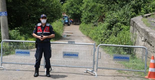 Zonguldak'ın Sivriler köyündeki karantina uygulaması sona erdi