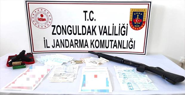 Zonguldak'da tefecilik operasyonu: 4 gözaltı