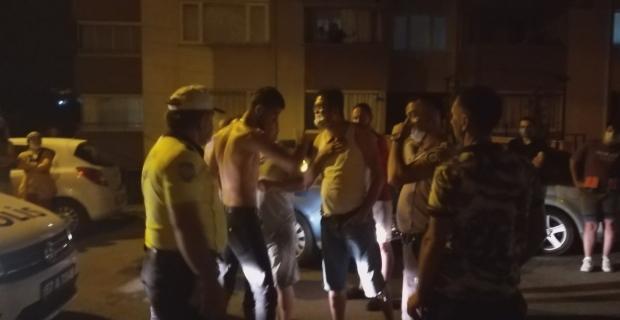 Alkolü fazla kaçırınca duvara tosladı