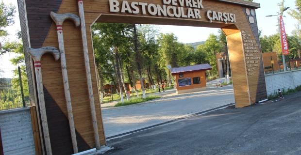 Devrek Baston Park yerli ve yabancı ziyaretçilerini bekliyor