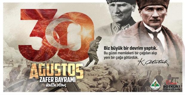 Çetin Bozkurt, Zafer Bayramını kutladı