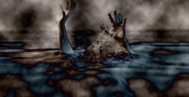Genç kız boğulma tehlikesi geçirdi