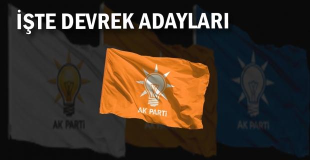 İşte Devrek AK Parti İlçe Başkan Adayları