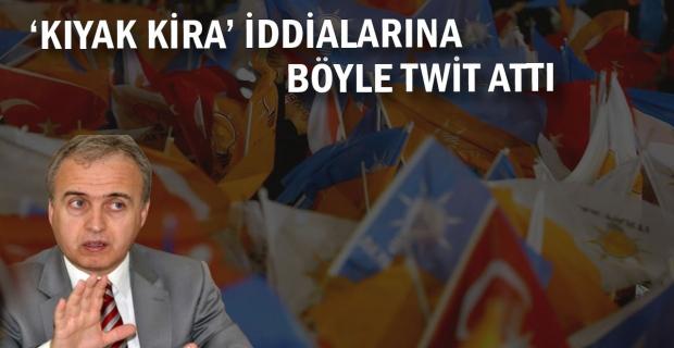 'Kıyak Kiraya' böyle twit attı