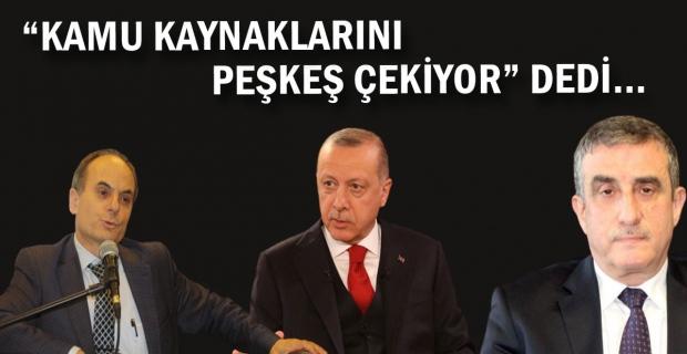 """""""Peşkeş çekiyor"""" dedi, TTK'ya 'AMİR' oldu"""