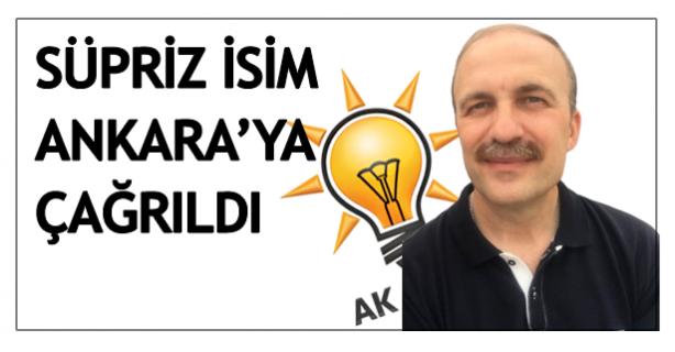 Sürpriz isim Ankara'ya çağrıldı