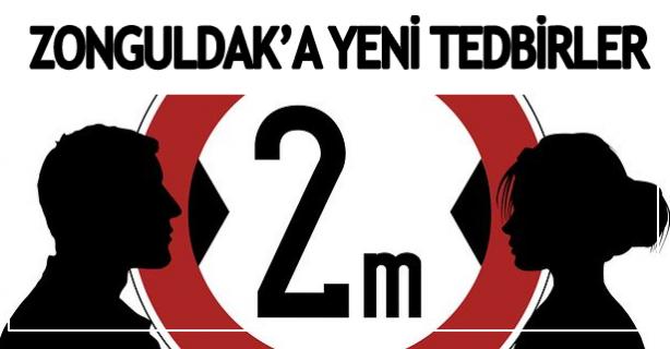 Zonguldak'a yeni tedbirler