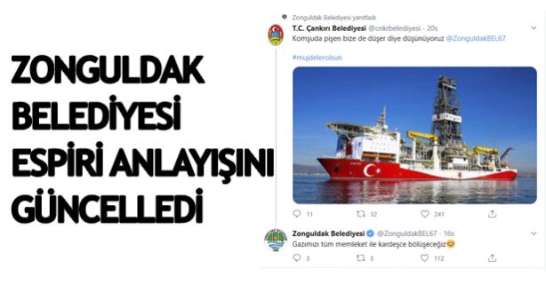 Zonguldak Belediyesi espri anlayışını güncelledi