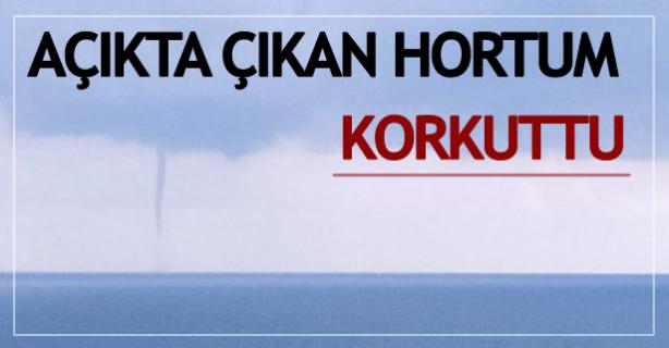 Zonguldak'ta hortum; korkuttu