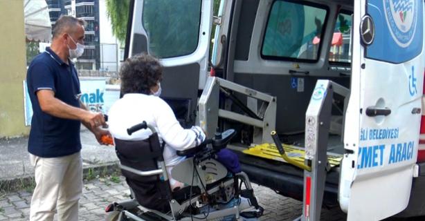 Ereğli Belediyesinden Engellilere özel hizmet