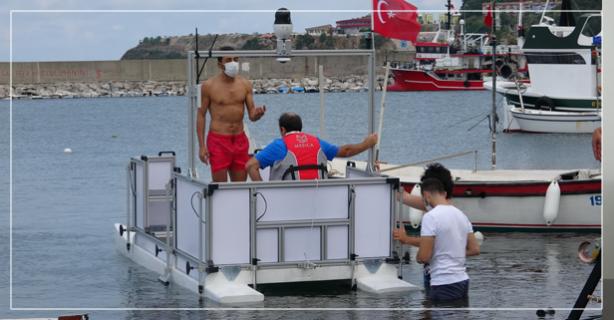 İnsansız su aracı denizin dibini tarıyor